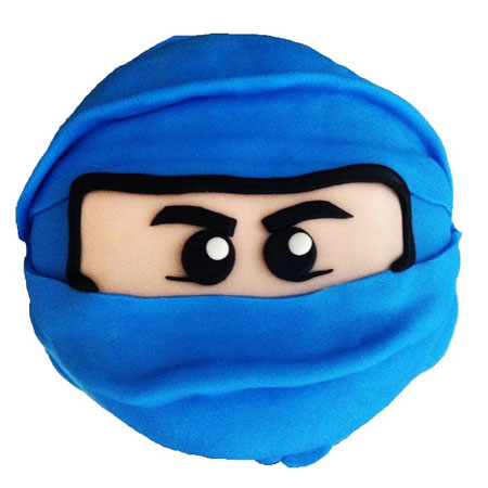 Ninja Cake DIY Kit perfect for a boys birthday cake from Cake 2 The Rescue