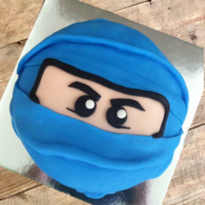 Ninja and martial arts birthday cake kit from Cake 2 The Rescue