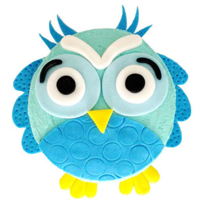 owl baby shower or birthday cake DIY kit from Cake 2 The Rescue