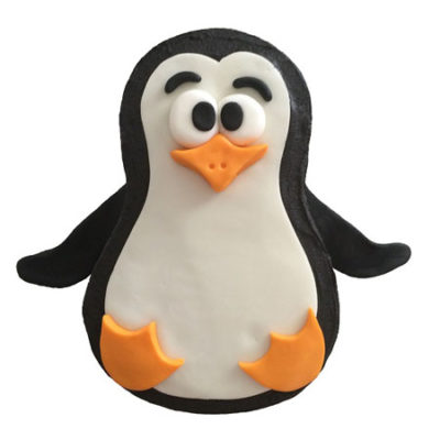Penguin birthday cake DIY kit from Cake 2 The Rescue