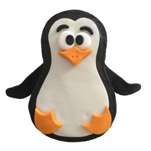 penguin cake kit