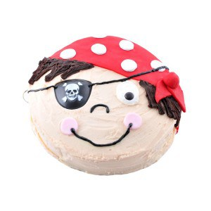 pirate boy cake kit