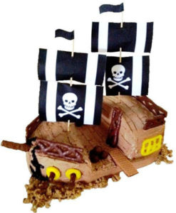Pirate ship birthday cake DIY kit from Cake 2 The Rescue
