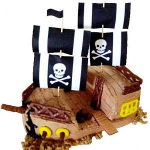 pirate ship cake kit
