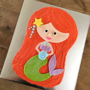 Princess Ariel birthday cake kit from Cake 2 The Rescue