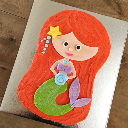 Excellent Easy Diy Mermaid Princess Cake Kit Cake 2 The Rescue Personalised Birthday Cards Paralily Jamesorg