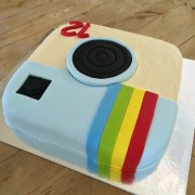 retro camera diy cake kit wooden back 600