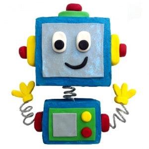 robot cake kit