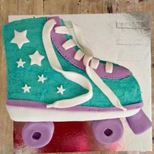 Roller skate teens disco birthday cake kit Roller skate cake kids DIY kit from Cake 2 The Rescue