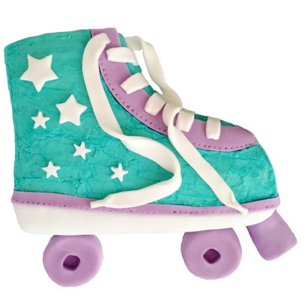 Roller Skate Cake Kit Girls Birthday Cake Recipe Kit