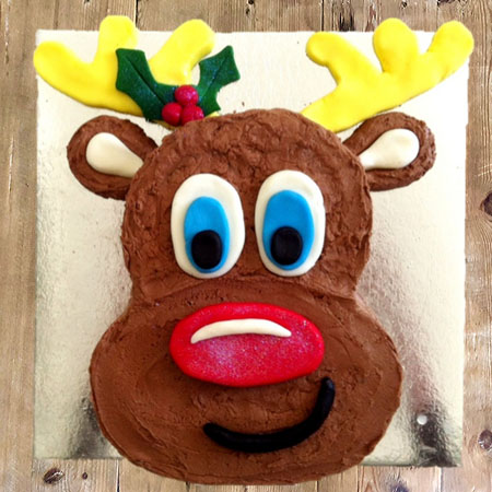 Rudolph the Red Nosed Reindeer DIY cake kit from Cake 2 The Rescue
