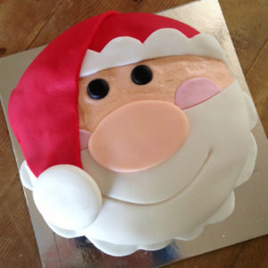 Santa Claus Christmas DIY cake kit from Cake 2 The Rescue