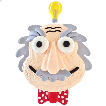 scientist and young Einstein birthday DIY cake kit from Cake 2 The Rescue