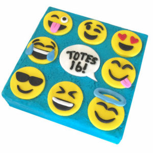 Smiley faces birthday cake DIY kit from Cake 2 The Rescue