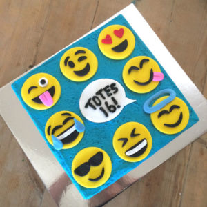 Smiley faces retirement cake kit from Cake 2 The Rescue