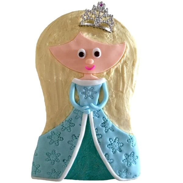 snowflake princess cake kit