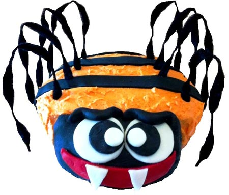 spider birthday boy DIY cake kit from Cake 2 The Rescue