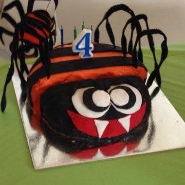 Awesome Spider Cake Kit Boys Birthday Cake Recipe Kit Diy Decorating Kit Funny Birthday Cards Online Inifofree Goldxyz
