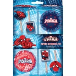 spiderman cupcake kit