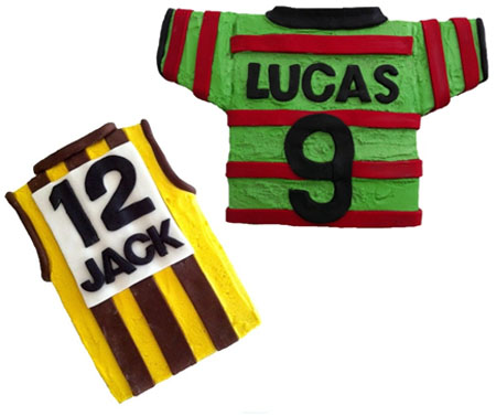 Sport Jersey Guernsey Birthday cake DIY kit from Cake 2 The Rescue