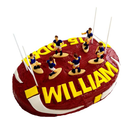 sport, NRL and ruby league birthday DIY cake kit from Cake 2 The Rescue