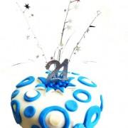 spots and stars blue milestone 600