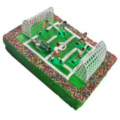 Stadium soccer birthday cake DIY kit from Cake 2 The Rescue