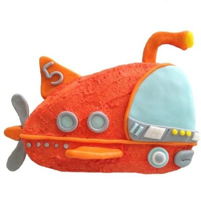 submarine and under the sea DIY birthday cake kit from Cake 2 The Rescue