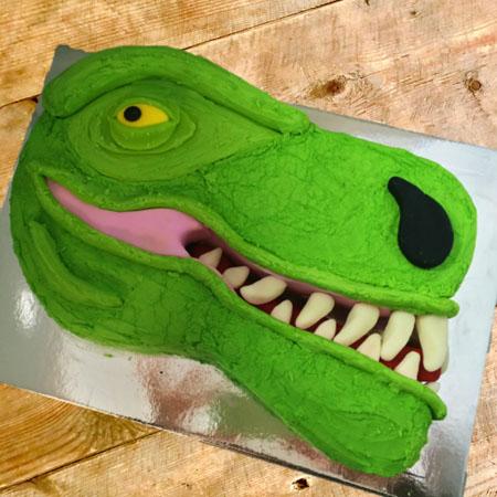 Tyrannosaurus Rex Birthday DIY Cake Kit from Cake 2 The Rescue