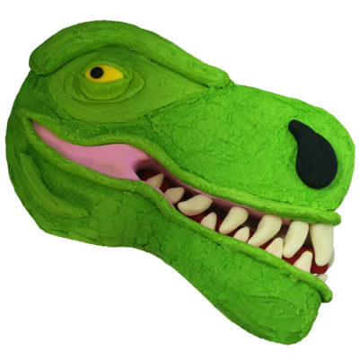 T-Rex DIY Cake Kit from Cake 2 The Rescue