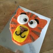 tiger diy cake kit wooden