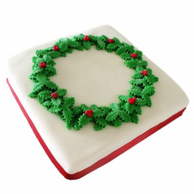 Traditional Christmas Cake DIY kit from Cake 2 The Rescue