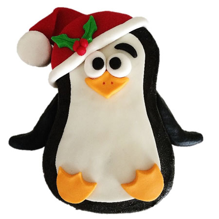 Christmas penguin cake DIY kit from Cake 2 The Rescue