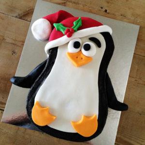 Christmas penguin kids DIY cake kit from Cake 2 The Rescue
