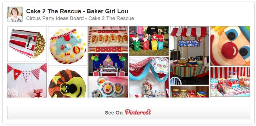 pinterest circus party