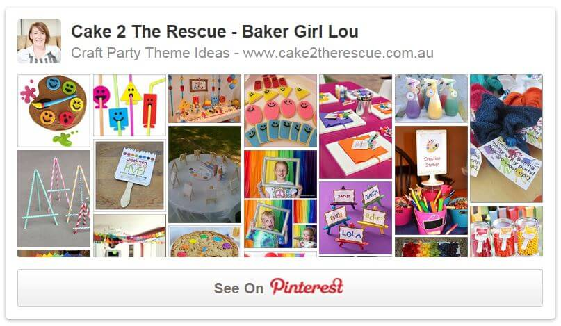 craft pinterest party board