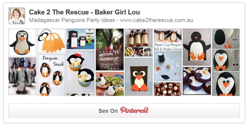 penguin pinterest page