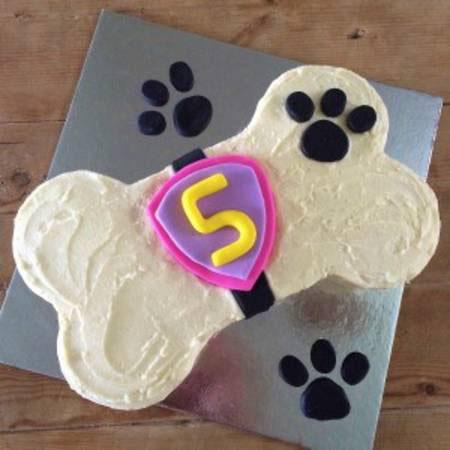 girls birthday bone DIY cake kit from Cake 2 The Rescue