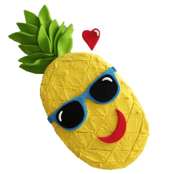 pineapple diy cake kit