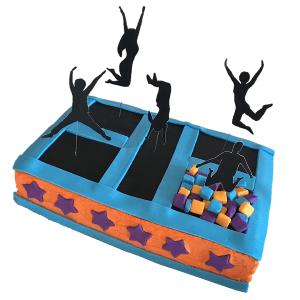 trampoline cake kit