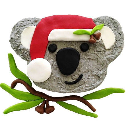 Christmas Koala cake DIY kit from Cake 2 The Rescue