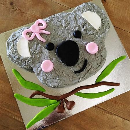 koala Australia Day celebrations DIY cake kit from Cake 2 The Rescue