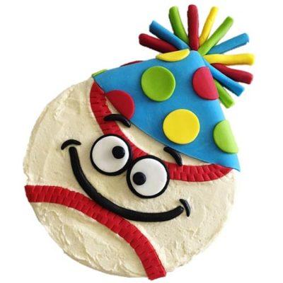 party baseball birthday cake DIY cake kit from Cake 2 The Rescue