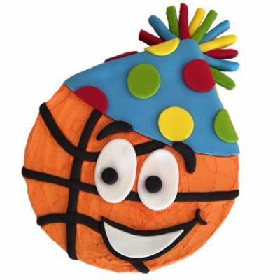 party basketball birthday cake DIY cake kit from Cake 2 The Rescue