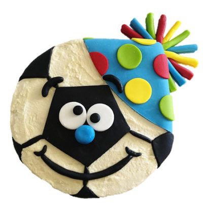 Party soccer ball birthday cake DIY kit from Cake 2 The Rescue
