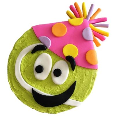 party tennis ball birthday cake DIY cake kit from Cake 2 The Rescue