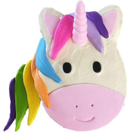 rainbow unicorn girl first birthday cake DIY kit from Cake 2 The Rescue