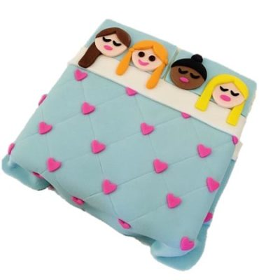 slumber party girls birthday DIY cake kit from Cake 2 The Rescue