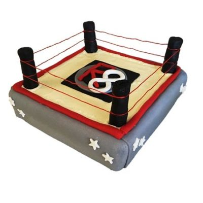 boxing boys birthday cake diy cake kit from Cake 2 The Rescue