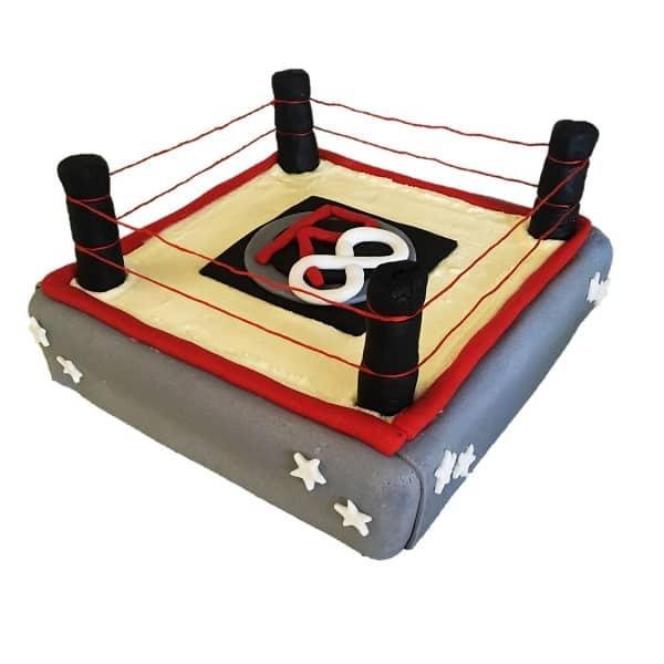 Boxing Wrestling Ring Cake Kit Boys Birthday Cakes Wwf